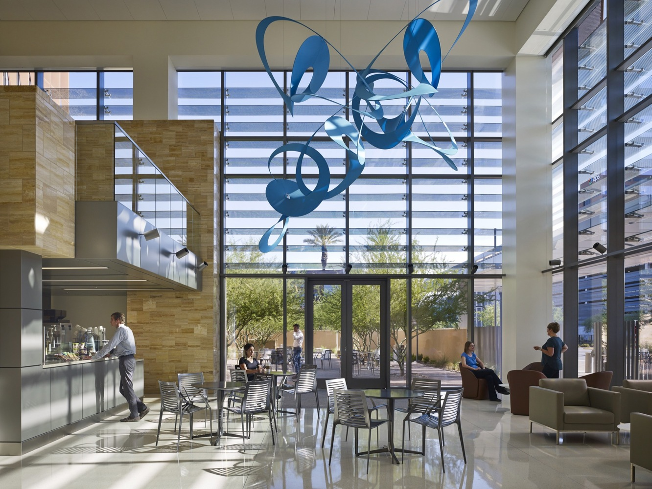 Gallery of University of Arizona Cancer Center / ZGF
