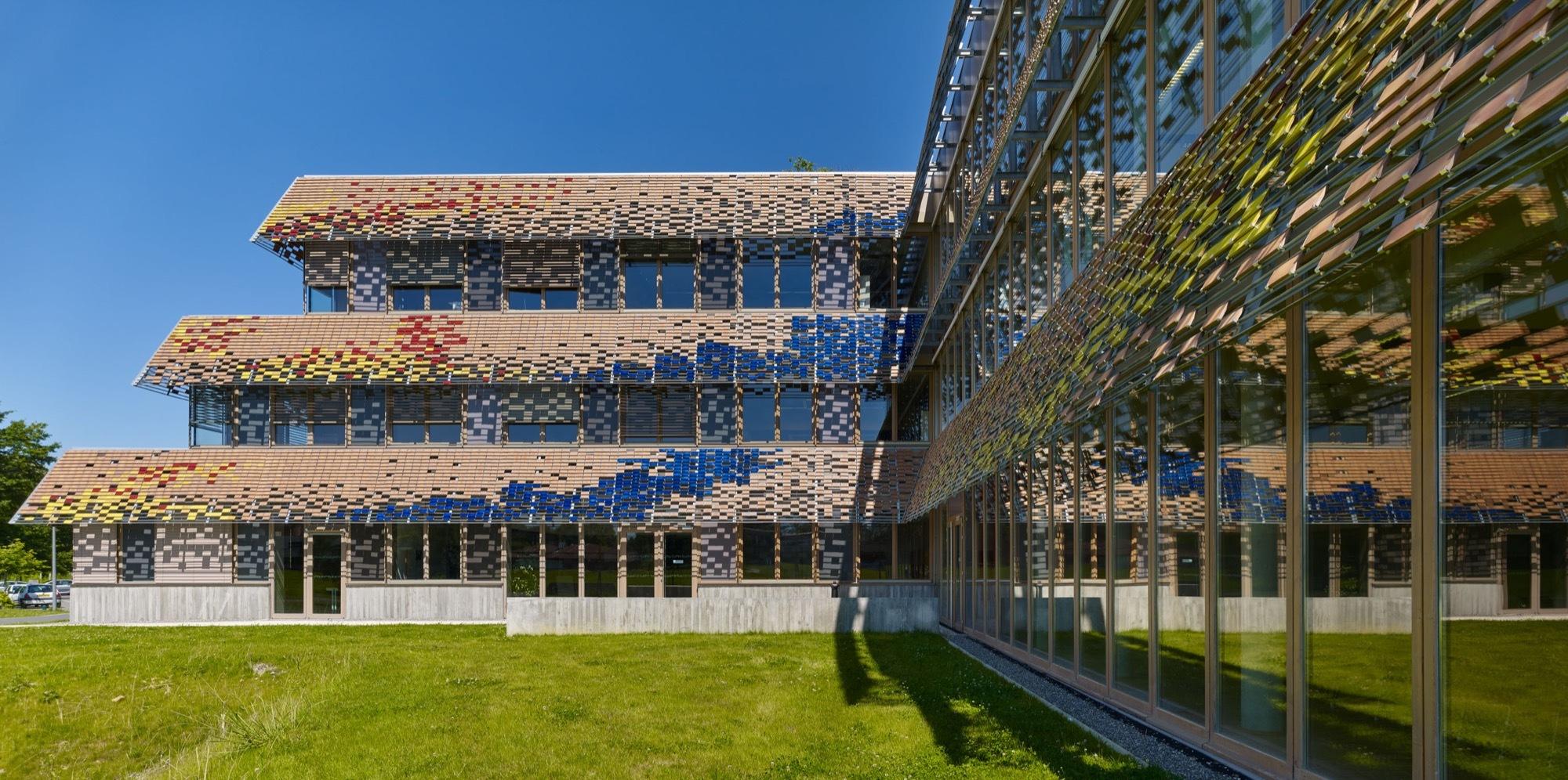university of pau and pays de l adour architecture patrick mauger