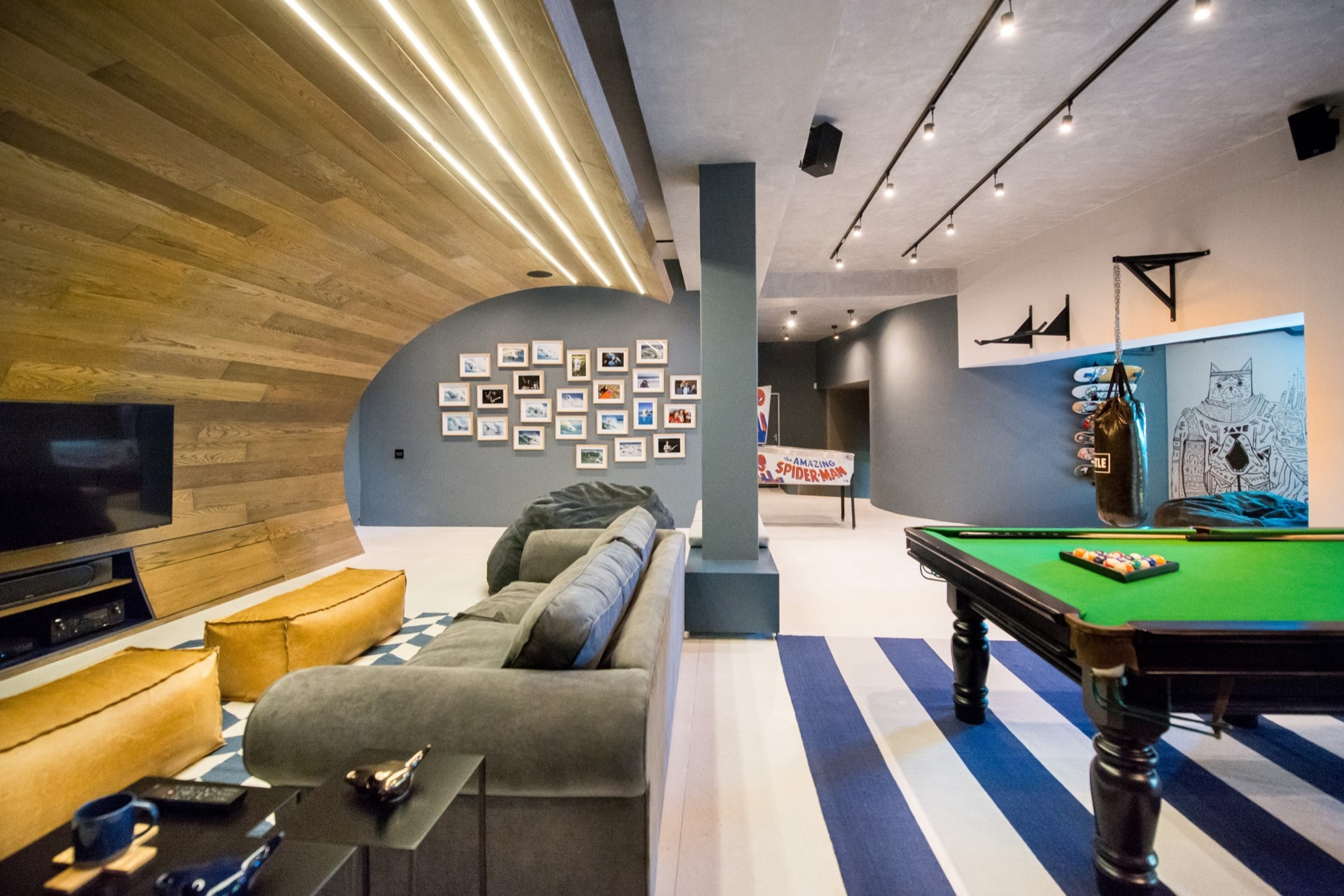 Man Cave Urban Utilities : Gallery of urban man cave inhouse brand architects