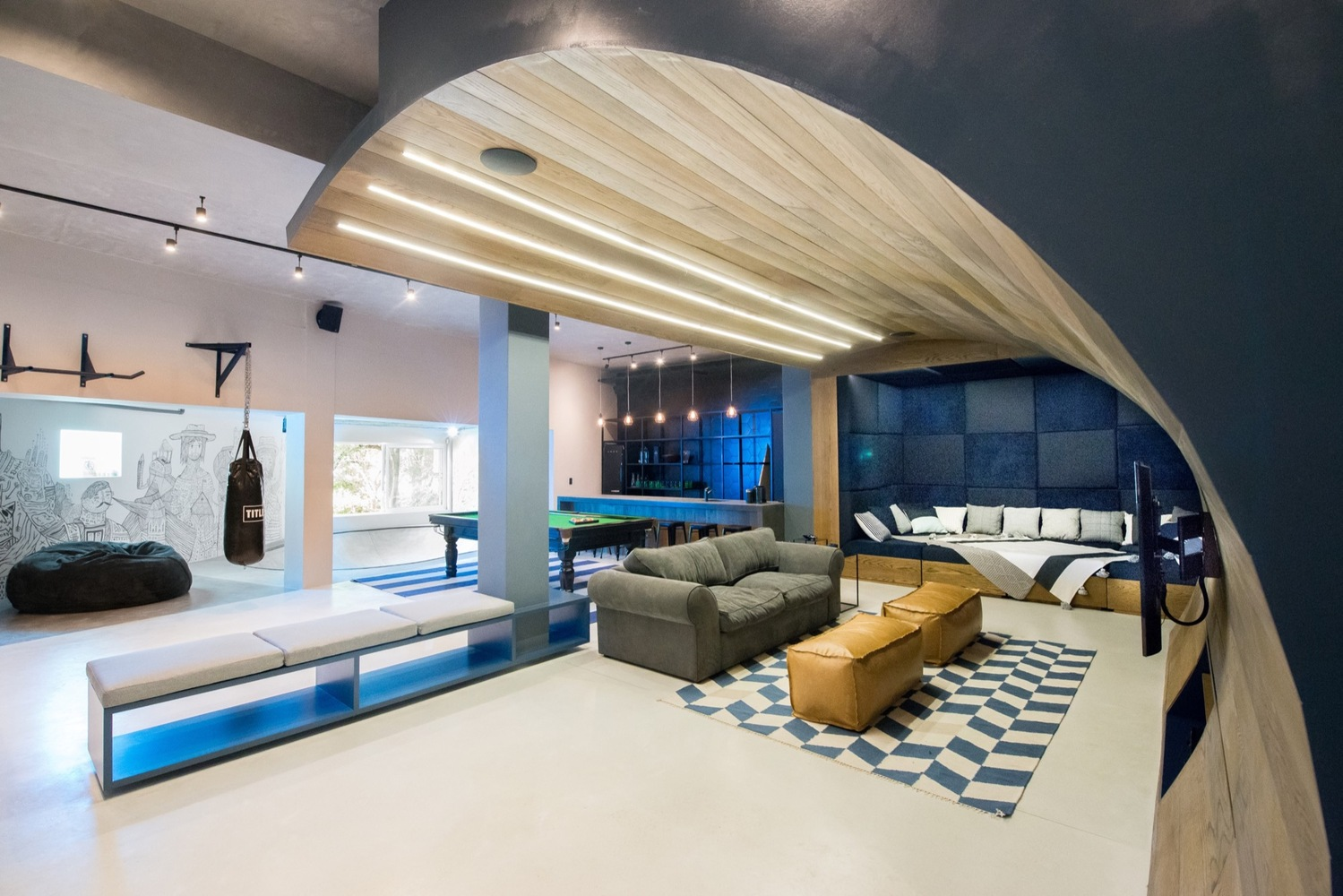 Man Cave Urban Years : Gallery of urban man cave inhouse brand architects