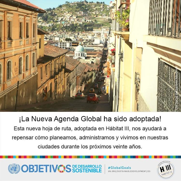 Esta es la Nueva Agenda Urbana promulgada en Habitat III