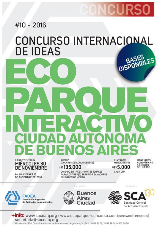 Concurso Internacional de Ideas Ecoparque Interactivo Ciudad de Buenos Aires, Cortesía de Unknown