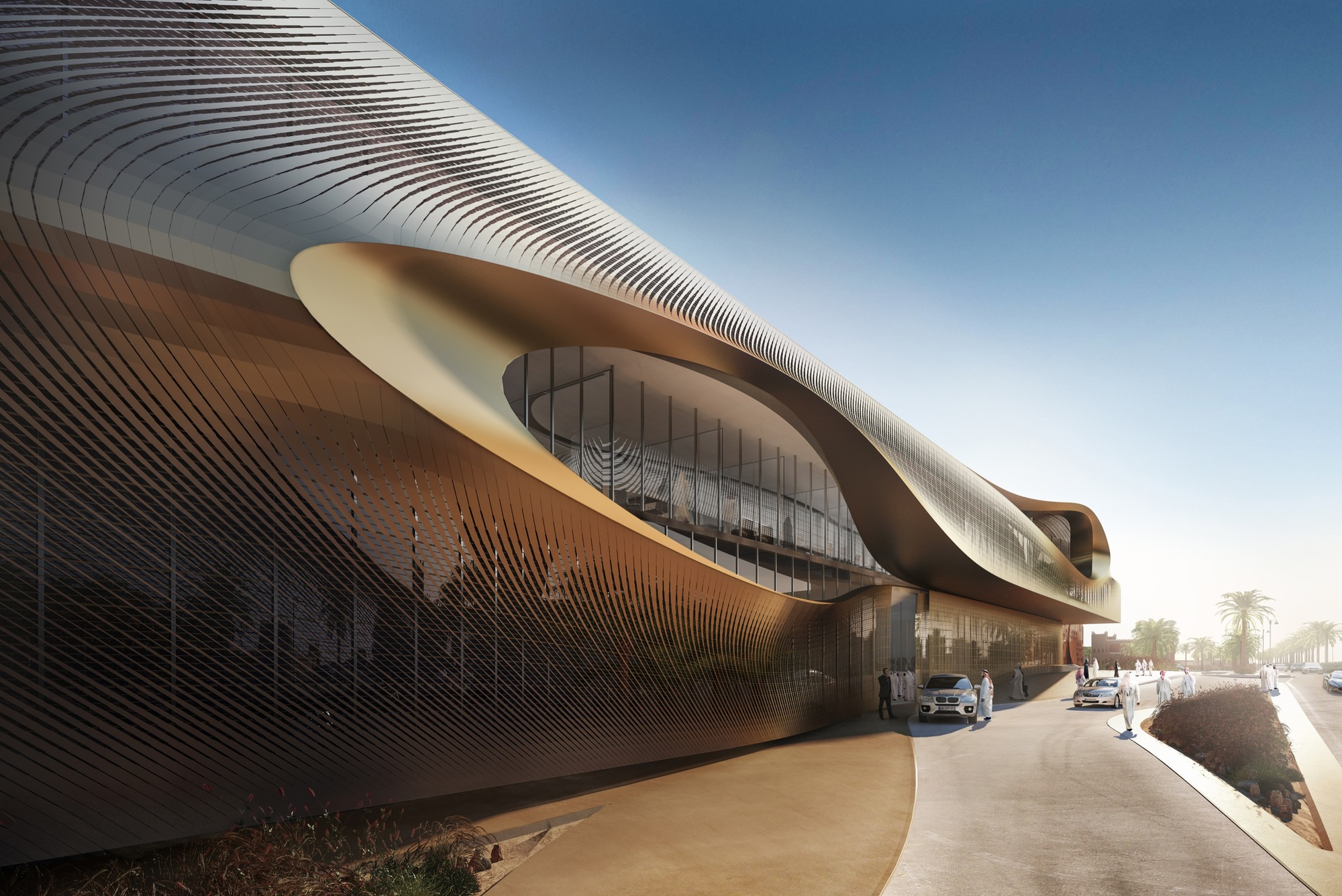 Zaha Hadid Architects Wins Competition For Oasis Inspired
