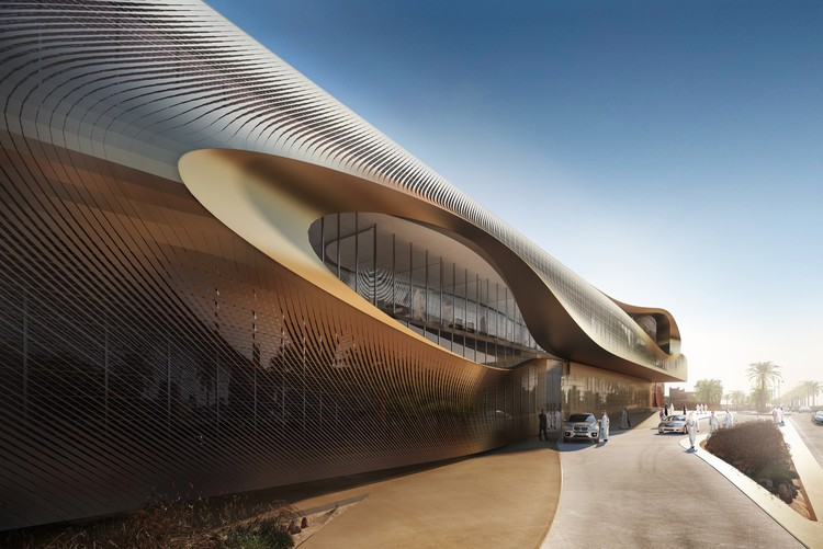 Zaha Hadid Architects Wins Competition for Oasis-Inspired Cultural Center in Saudi Arabia, © Methanoia. Courtesy of Zaha Hadid Architects