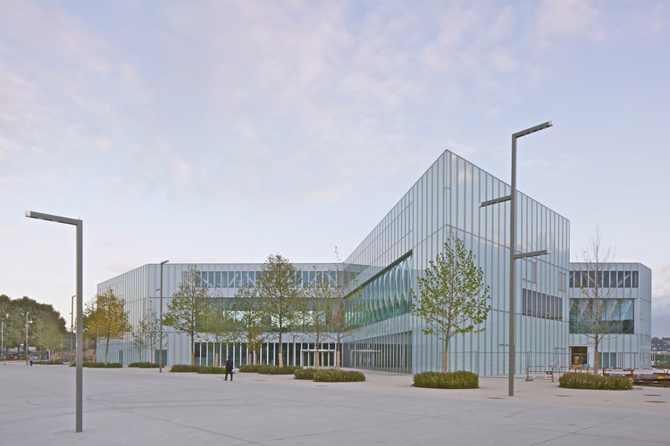 OMA's Bibliothèque Alexis de Tocqueville in Caen Slated to Open in 2017, © Philippe Ruault