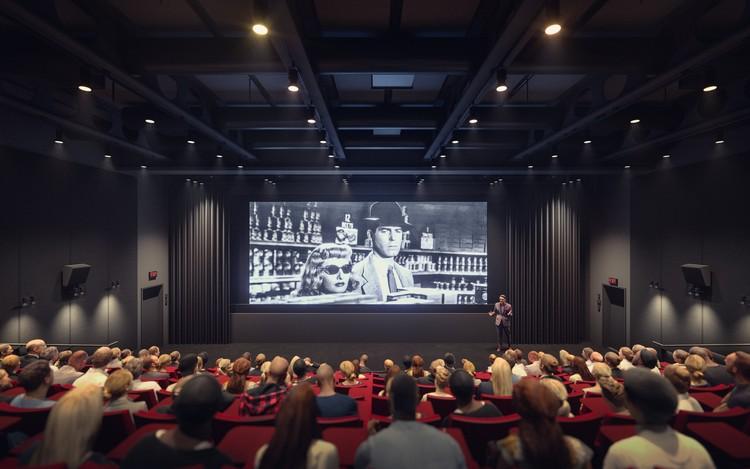 Lenfest Center for the Arts: The Katharina Otto-Bernstein Screening Room. Image © Renzo Piano Building Workshop y Davis Brody Bond, Render por Dionysios Tsagkaropoulos