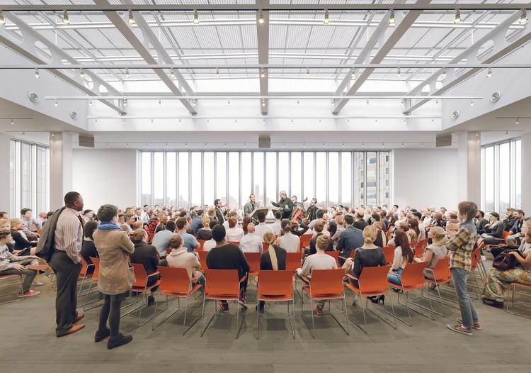 Lenfest Center for the Arts Image © Renzo Piano Building Workshop y Davis Brody Bond, Render por Dionysios Tsagkaropoulos