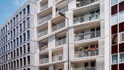 Berges - 28 Residências Sociais / ODILE+GUZY architectes