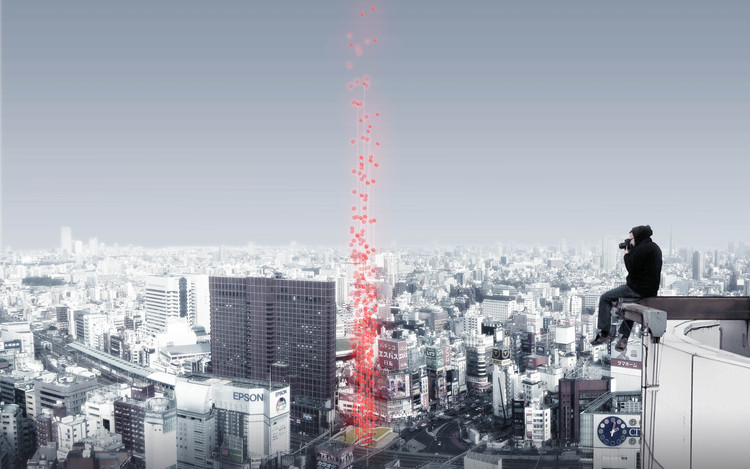 Tokyo Vertical Cemetery Competition Winners Announced, Courtesy of Arch Out Loud