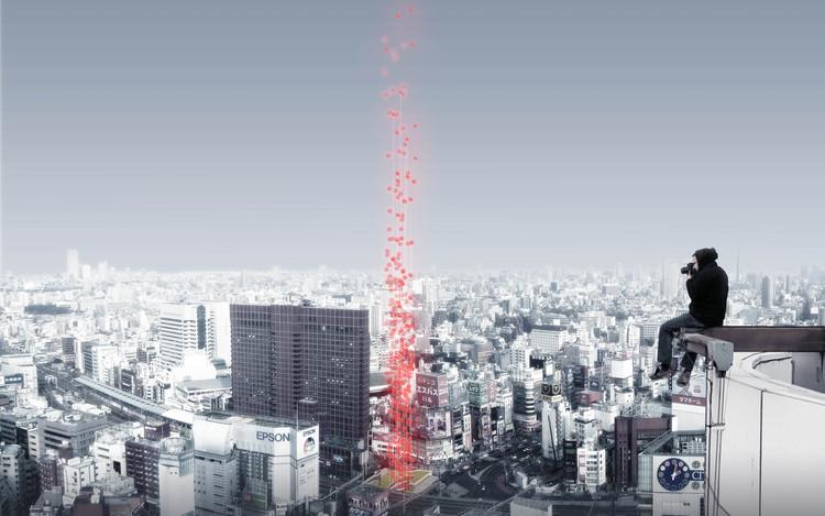 Anunciados os vencedores do concurso para Cemitério Vertical em Tóquio, Cortesia de Arch Out Loud