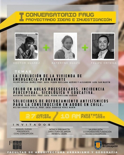 I Conversatorio Faug: Proyectando Ideas e Investigación, Laboratorio de Imagen y Comunicación, Faug