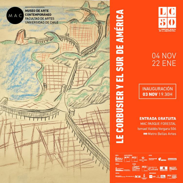 Exhibición 'Le Corbusier y el sur de América', MAC Parque Forestal
