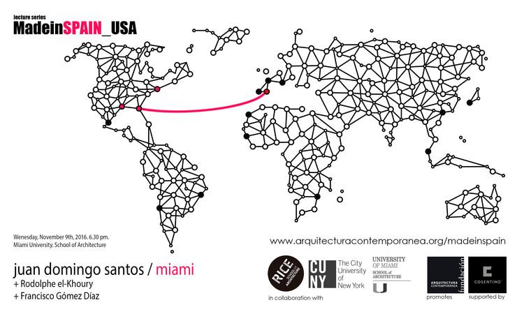 MadeinSpain: Juan Domingo Santos en Miami, Fundación Arquitectura Contemporánea