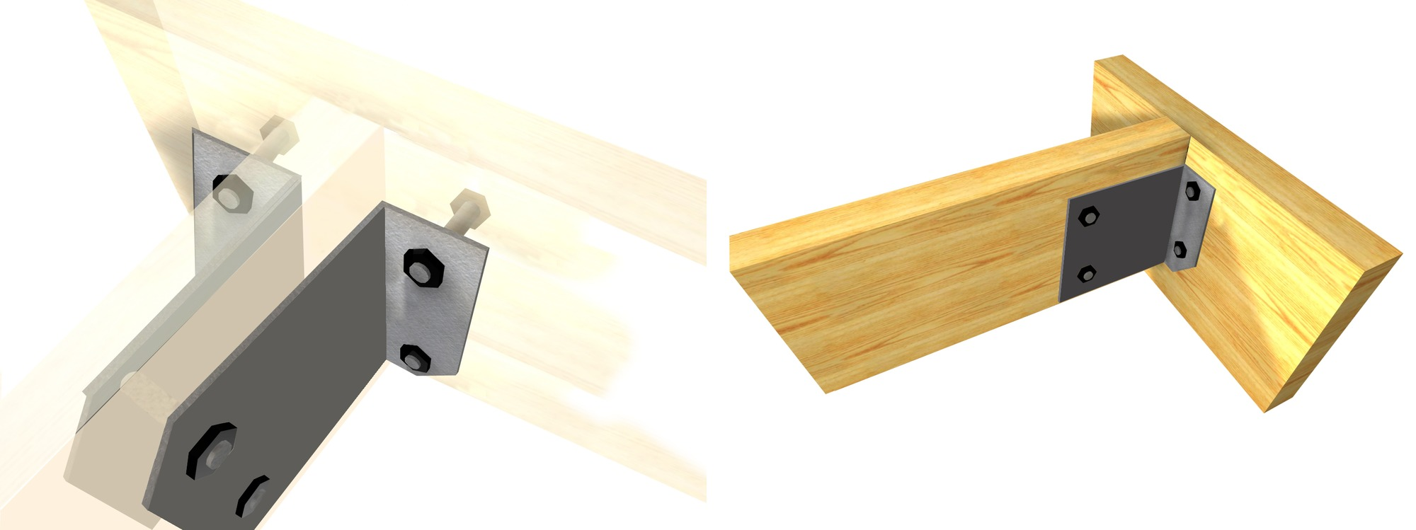 15 Metal Fittings For Connecting Laminated Wooden Structures