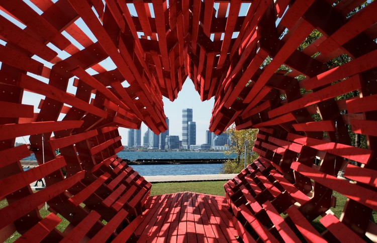 This Maple Leaf Shaped Tunnel Commemorates Hungarian Refugees in Canada , © Gergely Szinnay
