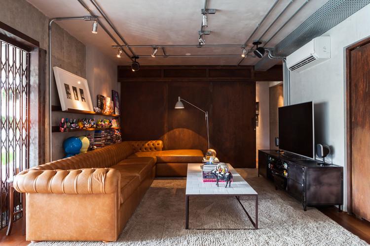 Apartamento Biazzi / Estúdio Penha, © Lufe Gomes