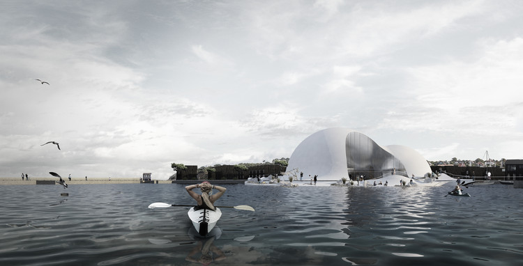 CEBRA Designs New Museum Dedicated to Greenland and the Arctic, Courtesy of CEBRA