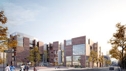 White Arkitekter Proposes Plan for Carlsberg City that Responds to Copenhagen's Rich Brick Histroy