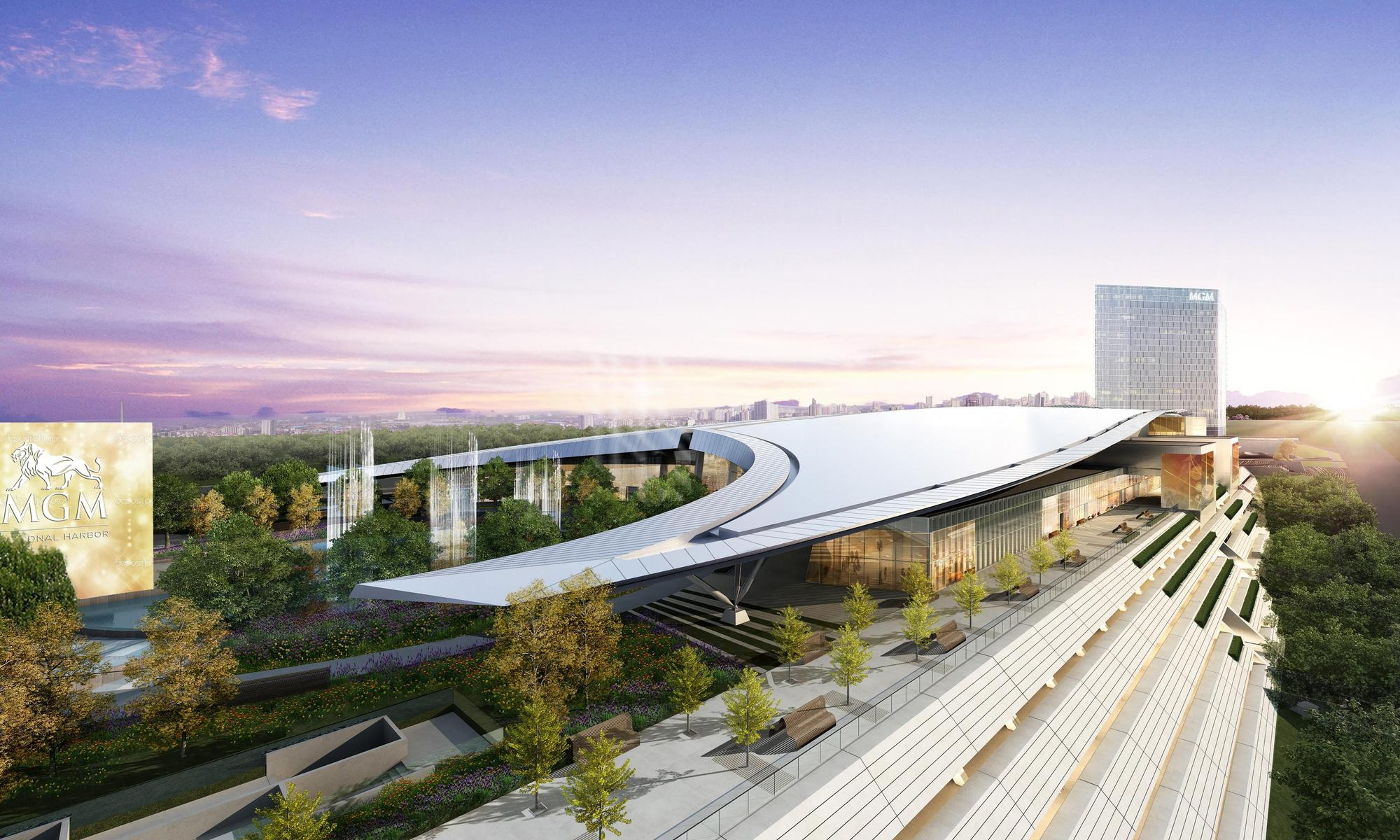 Mgm National Harbor S Luxury Gaming Resort Will Open In December Archdaily