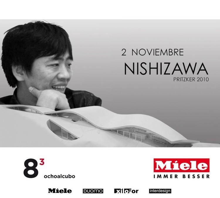 Ryue Nishizawa en lanzamiento del primer libro de Ochoalcubo