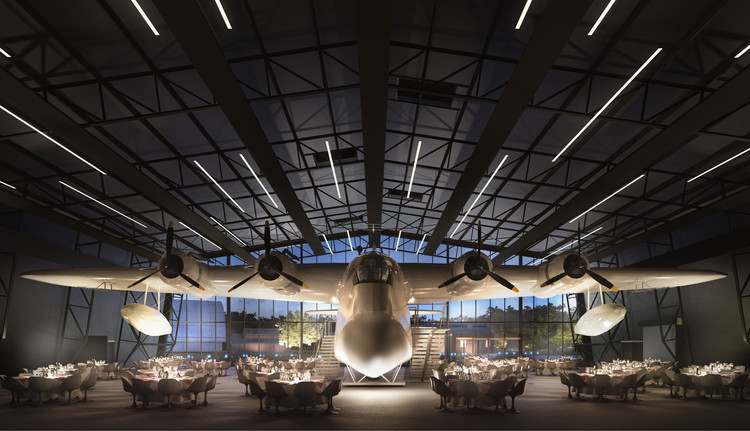 Nex Architecture Unveils Design for New Royal Air Force Museum in London, © Hayes Davidson