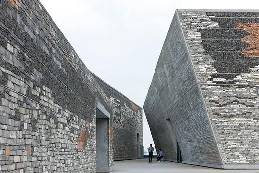 Ningbo History Museum. Image © Iwan Baan