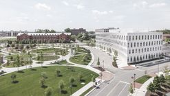 BIG's First Office Building Design Opens at the Philadelphia Navy Yard