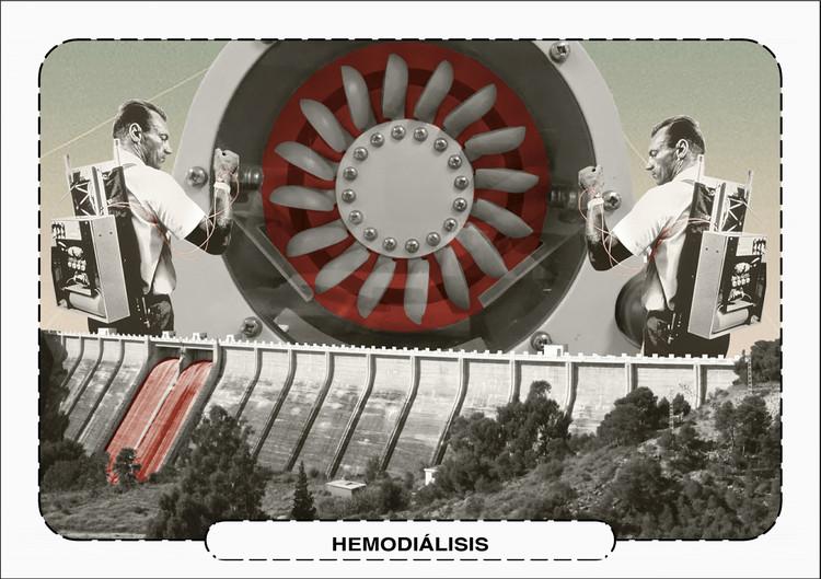 PFC: Estudiantes españoles teorizan un modelo arquitectónico alternativo al actual sistema médico, Hemodiálisis. Image © SomniStudi