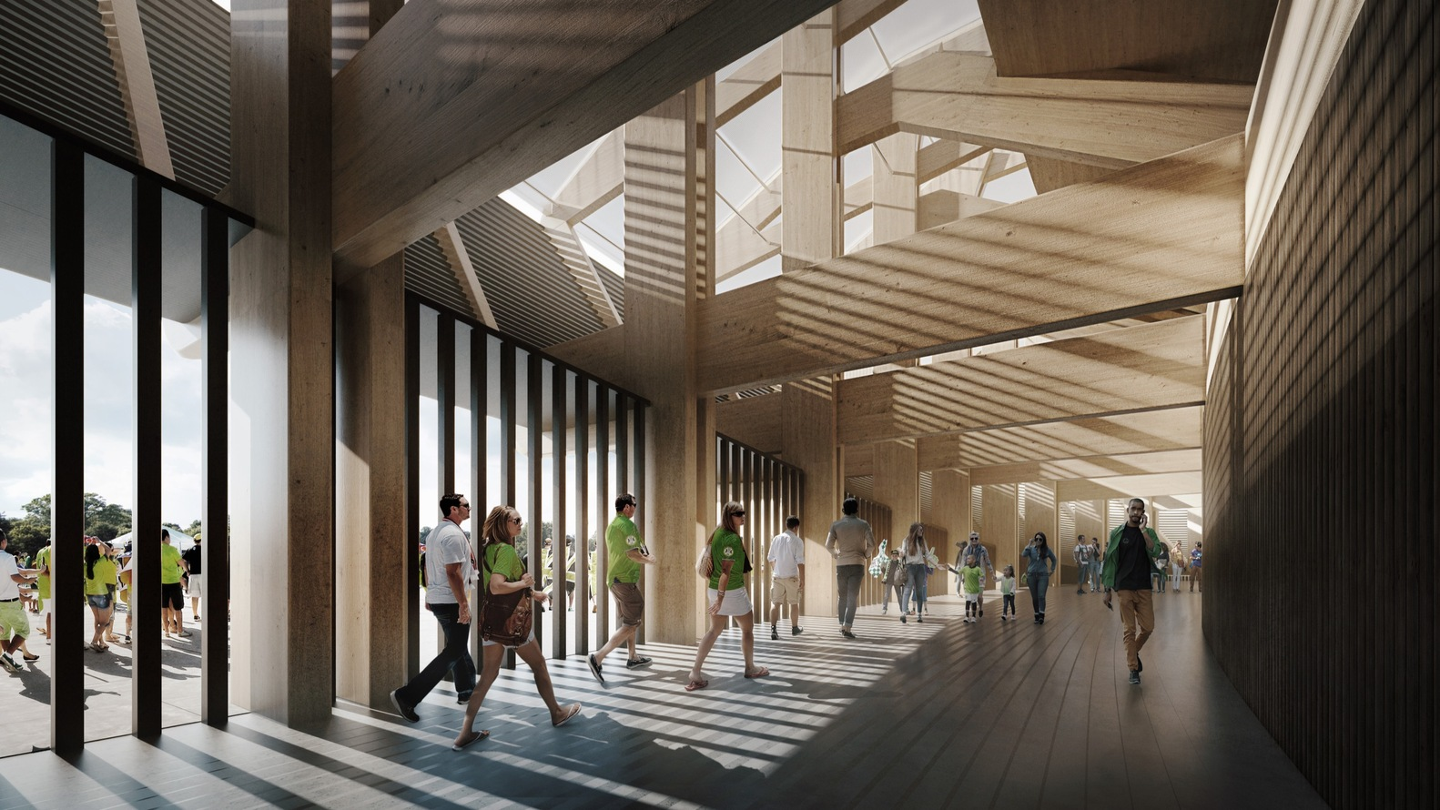 architectural interior renderings. zaha hadid architects\u0027 competition-winning design for forest green rovers will be world\u0027s first architectural interior renderings