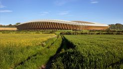 Zaha Hadid Architects' Competition-Winning Design for Forest Green Rovers Will Be World's First All-Wood Stadium