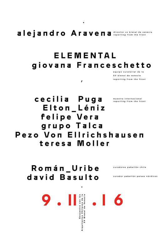 Frente Sur: Encuentro con los arquitectos chilenos de la XV Bienal de Venecia