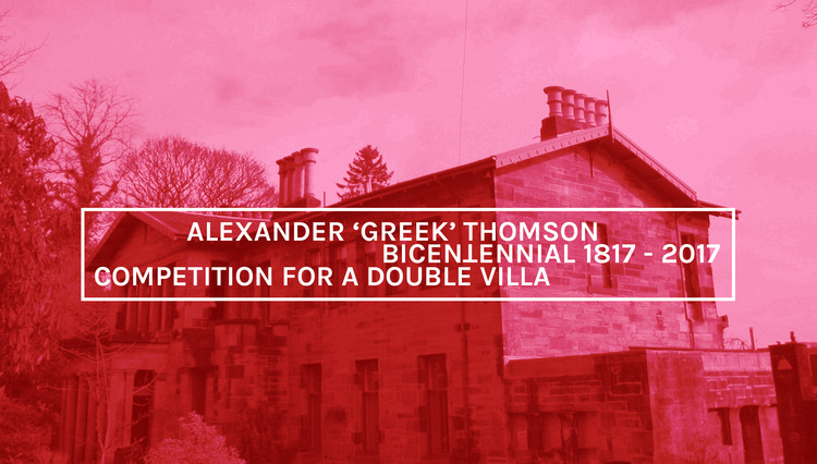 Competition for a Double Villa, Courtesy of Unknown