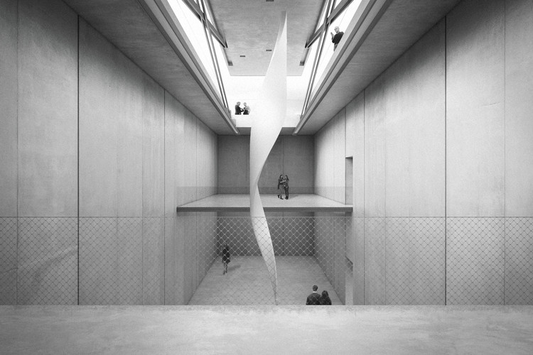 KWK Promes Selected to Extend Bunker of Arts Contemporary Art Gallery in Poland, © KWK Promes