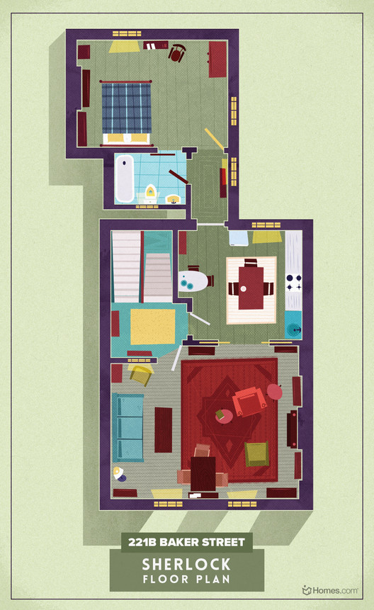 From Buffy To Breaking Bad Sherlock To Stranger Things Here Are 8 Floor Plans From Cult Tv Shows Archdaily