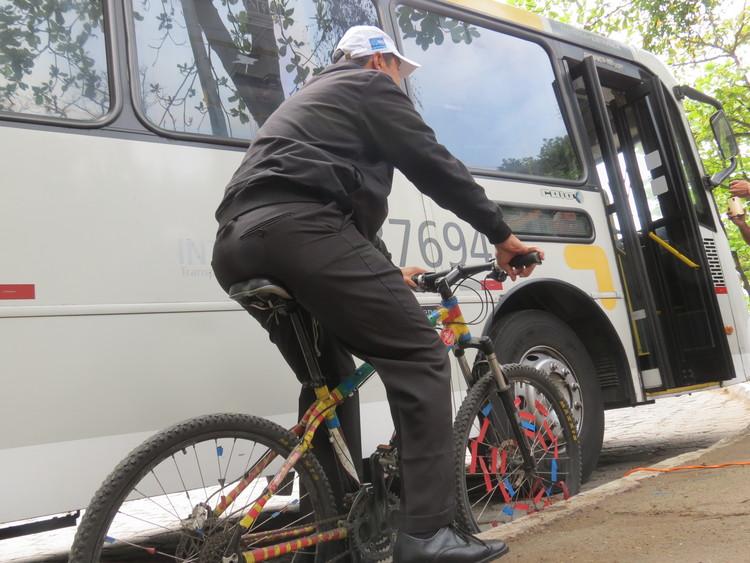 A bicicleta como uma aliada  no acesso ao transporte coletivo, © ITDP Brasil