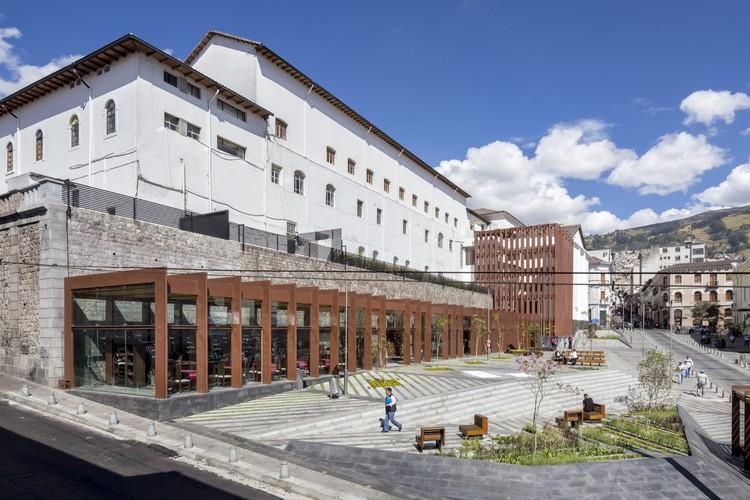 Plaza Huerto  San  Agustín / Jaramillo Van Sluys Arquitectura + Urbanismo, © Sebastián Crespo