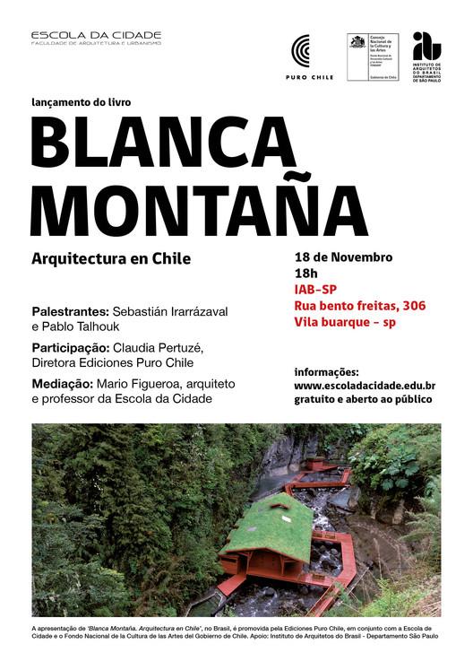 Escola da Cidade promove lançamento de livro sobre panorama da arquitetura chilena, Cortesia de Unknown