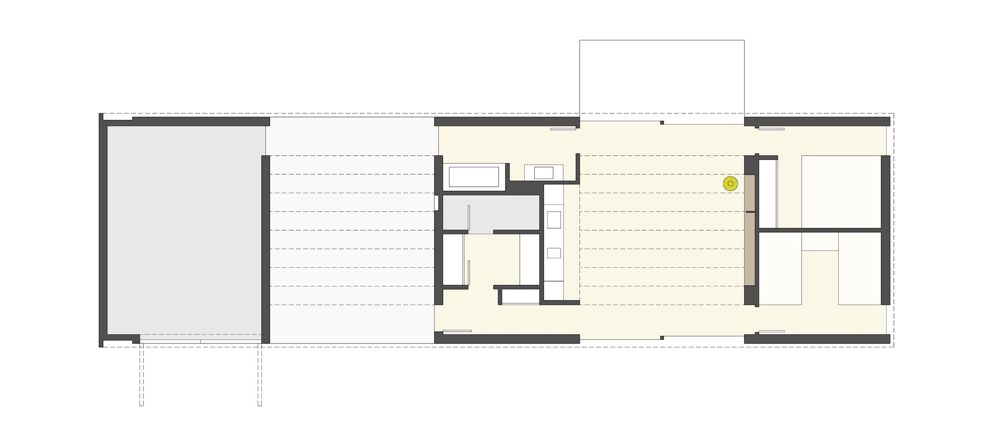 Vacation Cabin Floor Plans Galer 237 A De Caba 241 A Lineal Johnsen Schmaling Architects 11