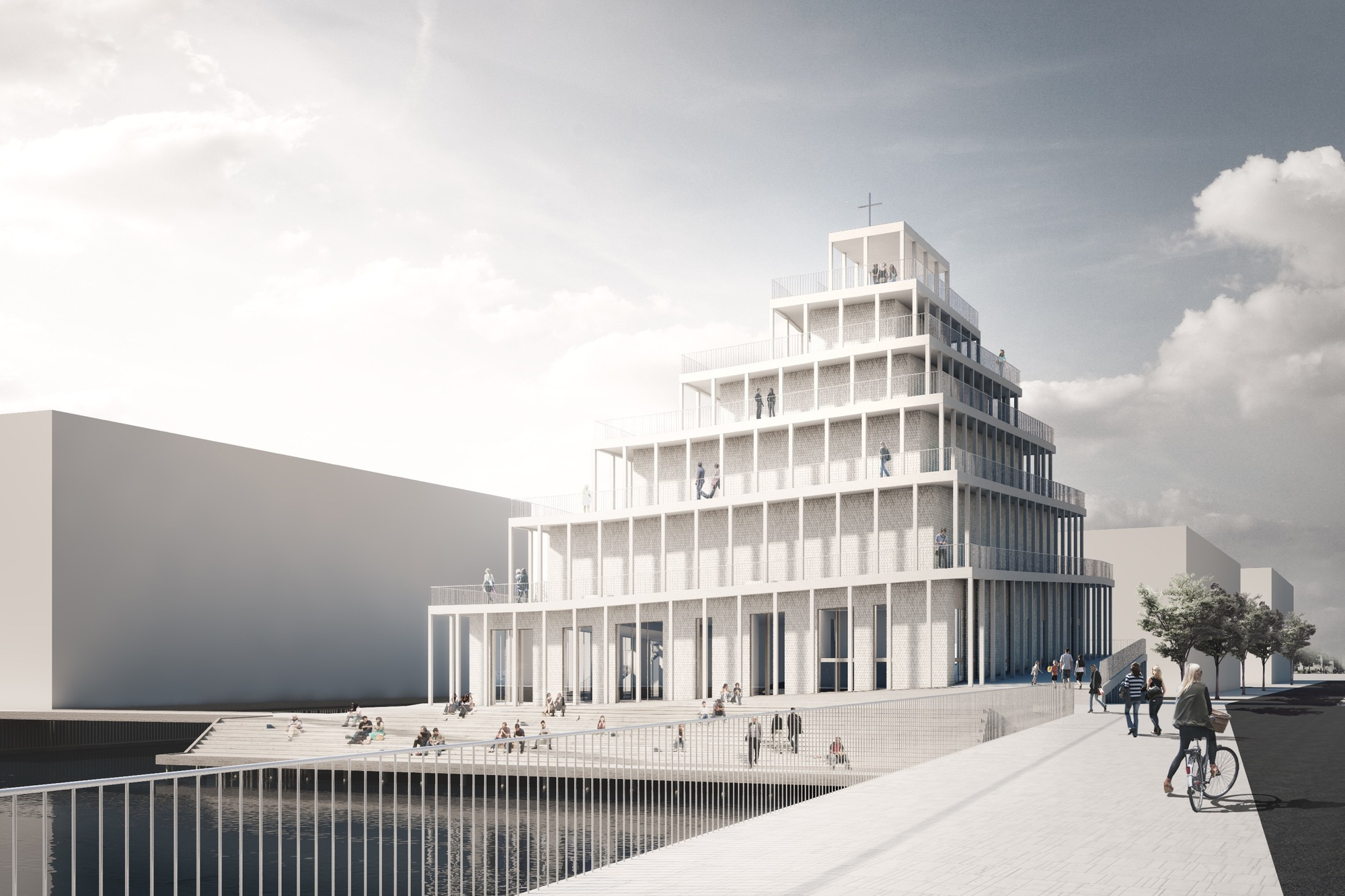 Winners Announced In Competition To Design Copenhagenu0027s First New Church In  30 Years, Courtesy Of Courtesy Of JAJA Architects
