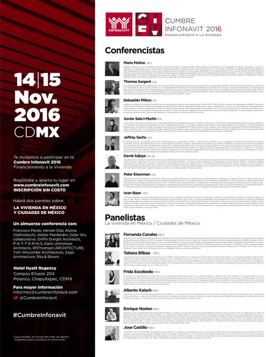 Cumbre Infonavit de Financiamiento a la Vivienda / Ciudad de México, Cortesía de Unknown