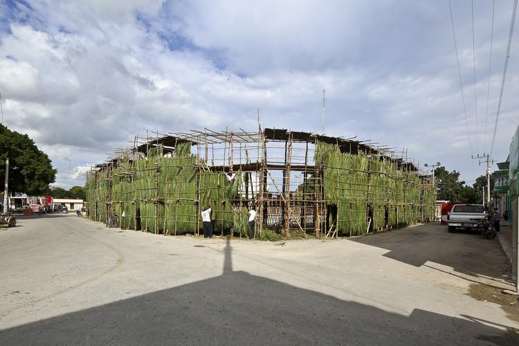 Tablados de Yucatán: Técnicas constructivas locales en la Bienal de Venecia, © Onnis Luque