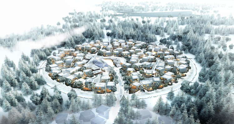 Residential Clusters Unveiled for Moscow's New Silicon Valley, © Agence d'Architecture A. Bechu & Associés