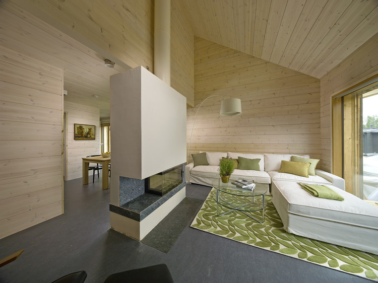 Casa Savukvartsi Honkarakenne Plataforma Arquitectura