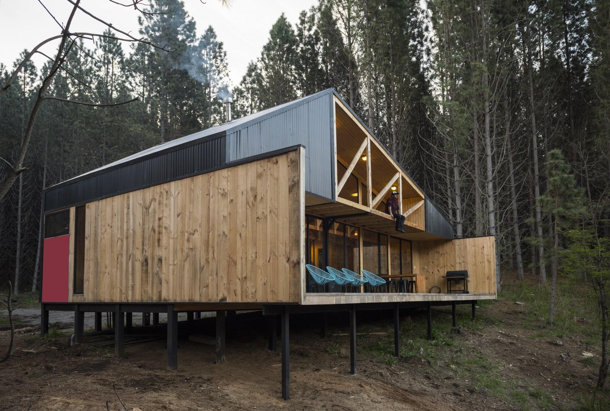 Casa la quimera ruca proyectos plataforma arquitectura for Casa rural mansion de la plata penacaballera