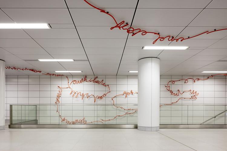 Dusseldorf Subway Map Kirchplatz.Wehrhahn Line Dusseldorf Netzwerkarchitekten Archdaily