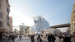 Proposed Station Extension Promotes Urbanism and Social Interaction in Nice