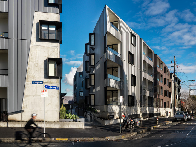 Assembly Apartments / Woods Bagot, © Trevor Mein