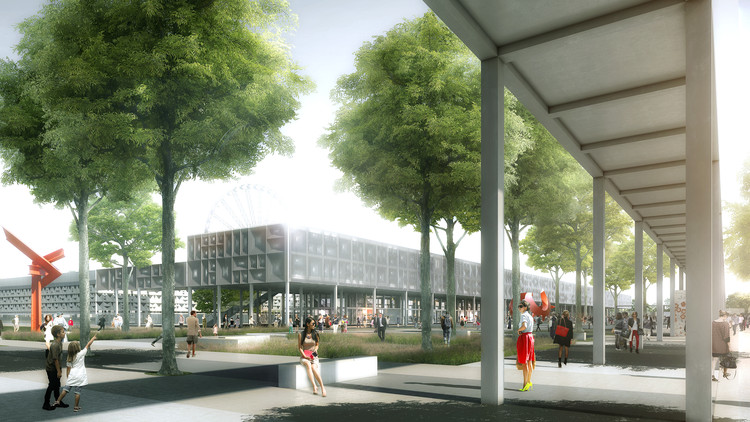 Clément Blanchet Reveals Proposal for PEX Bordeaux Extension, © Luxigon