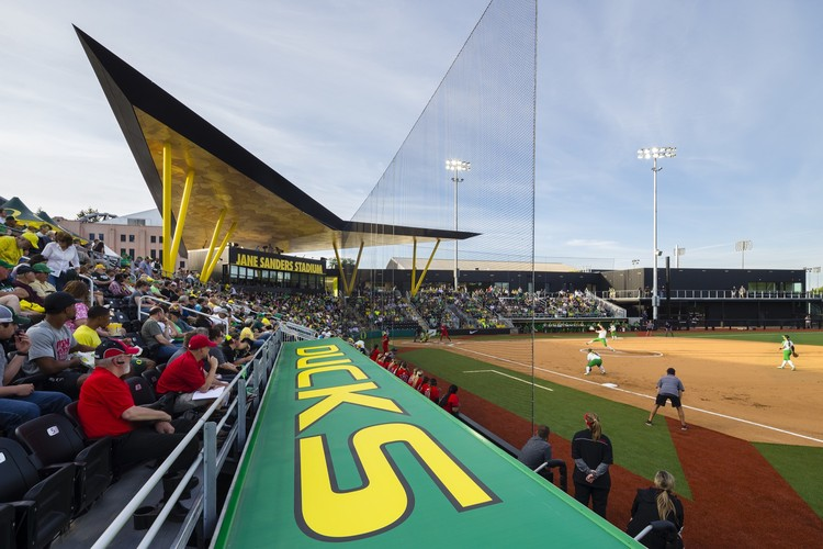 University of Oregon Jane Sanders Stadium / SRG Partnership, © Lawrence Anderson