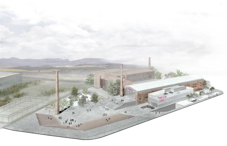 antonioyconsuelo + Rueda Pizarro ganan concurso para rehabilitar fábrica 'La Tejera' en España, Cortesía de antonioyconsuelo Arquitectos
